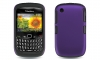 BlackBerry 8520 Curve 2 Black Skin & Purple Rubber