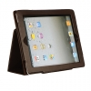 Apple iPad 2 Stand Binder with Sleep Mode Function Brown