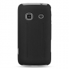 Samsung Prevail Dark Grey Skin Case with Black Rubber
