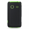 Samsung Prevail Green Skin Case with Black Rubber