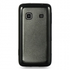 Samsung Prevail Candy Case Black Trim & Smoke Black