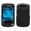 BlackBerry 9800 Torch Skin/Snap Black & Clear