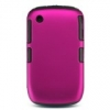 BlackBerry 8520/8530/9300/9330 Curve Skin/Snap Black & Pink