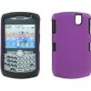 BlackBerry 8330 Skin/Snap On Purple & Black