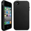 iPhone 4/4S Hybrid Skin Snap Black