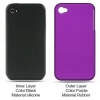 iPhone 4/4S Skin/Snap Purple