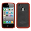 iPhone 4/4S Gummy Cover Red