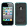 iPhone 4/4S Gummy Cover Blue