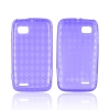 Motorola Atrix 2 Candy Skin Case - Argyle Purple