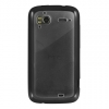 HTC Sensation 4G Candy Case Black Trim Smoke Hard Back