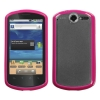 Huawei Impulse 4G Gummy Cover Clear & Pink