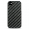 iPhone 4/ 4S Carbon Fiber Rear Case Black
