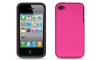iPhone 4/4S Pink & Black Skin/Snap
