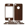 Purpleheart Wood Design for Apple iPhone 4/4S