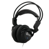 NoiseHush NX22 Stereo Headphones 3.5mm Black on Black