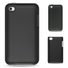 Apple iPod Touch 4 Solid Black/Black Skin Snap