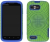 Motorola Atrix 2 Candy Illusion Green & Blue