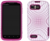 Motorola Atrix 2 Candy Illusion Pink & White