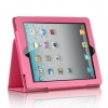iPad 2 Stand Binder with Sleep Mode Function Pink