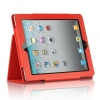 iPad 2 Stand Binder with Sleep Mode Function Red