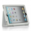 iPad 2 Stand Binder with Sleep Mode Function White
