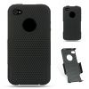 iPhone 4/4S Skin/Snap Black Mesh