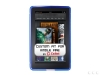 Amazon Kindle Fire Anti-Slip Grip Blue Skin