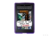 Amazon Kindle Fire Anti-Slip Grip Purple Skin