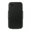 Apple iPhone 4/4S Carbon Fiber Black Combo Holster