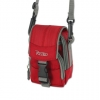 Reiko Camera Carrying Case with Strap - Medium Red