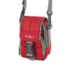Reiko Camera Carrying Case with Strap - Small Red