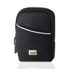 Camera Case with Belt Loop & Clip - Medium Black