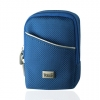 Camera Case with Belt Loop & Clip - Medium Blue