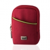 Camera Case with Belt Loop & Clip - Medium Red
