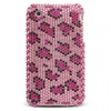 iPhone 3G/3GS Pink Leopard Diamante