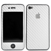 iPhone 4 White Carbon Skin Sticker
