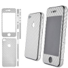 iPhone 4 Silver Carbon Fiber Skin Sticker