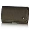 Luxmo HTC HD2 Horizontal Pouch - Brown