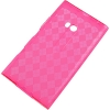 Nokia Lumia 900 / Ace TPU Checkered Pink Skin