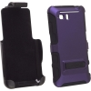 HTC Vivid Seidio Active Hybrid Holster Combo Purple