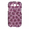 Samsung Galaxy S III Purple Leopard Print Diamante