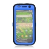 Samsung Vibrant Rugged Skin/Snap Blue