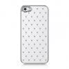 Apple iPhone 5 Chrome Case Studded Diamond White