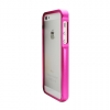 Apple iPhone 5 Aluminum Chrome Bumper Pink