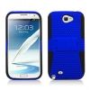 Samsung Galaxy Note II Skin/Snap With Stand Blue