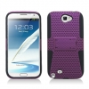 Samsung Galaxy Note II Skin/Snap With Stand Purple