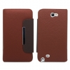 Samsung Galaxy Note II Brown Flip Cover