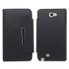 Samsung Galaxy Note II Carbon Fiber Flip Cover