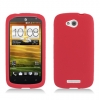 HTC One VX Red Skin