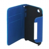Apple iPhone 4/ iPhone 4S Blue Flip Cover
